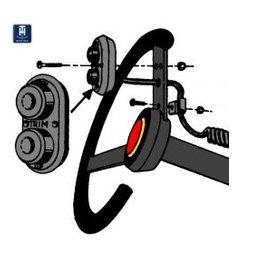 Stuur trim control (THST-1-DP)
