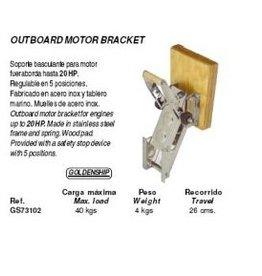 Buitenboordmotor bracket tot 20 pk (GS73102)