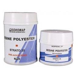 Polyester hars 375 of 750 gram (SOR140090)