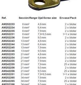 Terminal battery/accu kabel p.pack