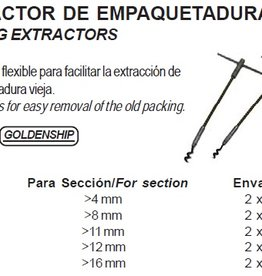 PACKING EXTRACTORS