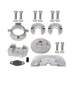 Mercruiser Aluminum & Magnesium & Zinc Anode Kits for Sterndrives Alpha One Gen II (888756Q01, 888756Q03)