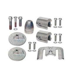 Mercruiser Aluminum & Magnesium Anode Kits for Sterndrives Bravo III (+2004) 888761Q02