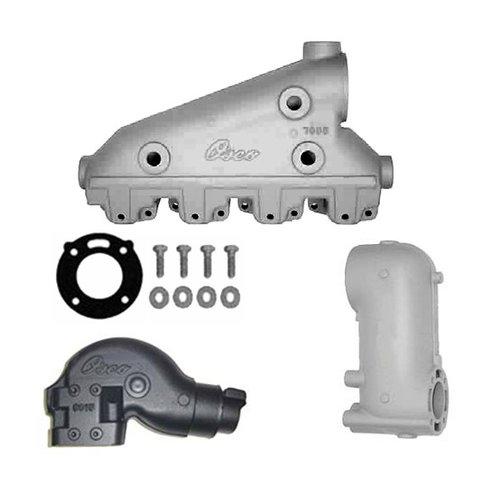 Crusader Exhaust Manifolds, Elbows, Risers en Mounting Kits