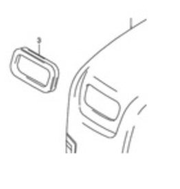 Suzuki/Johnson DF 9,9 /15 HP seal starter kap