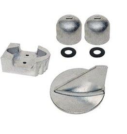 Mercruiser Aluminum & Magnesium & Zinc Anode Kits for Sterndrives ALPHA ONE (1984-90) (888756Q02, 888756Q04)
