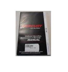 Mercury Outboard operation, maintenance & warranty 25/30 2-takt