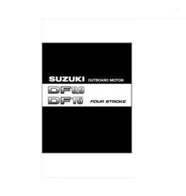Suzuki handleiding DF9.9 / DF15 2004