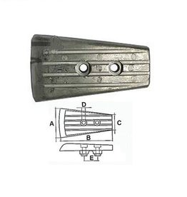 Volvo Penta Plate DPH System drive Zink / Alluminium 3588746