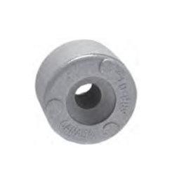 Ronde anode 24,5 mm, 11/13 dikte Zink of Aluminium voor alle merken