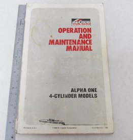 Mercruiser sterndrives handleiding voor gebruik en onderhoud