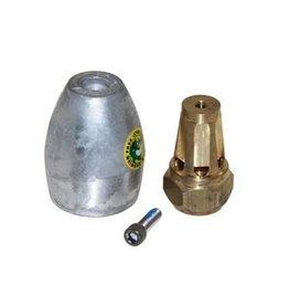 Mercruiser KIT ANODE BRAVO III (2004+) ALUMINIUM (865182A01)