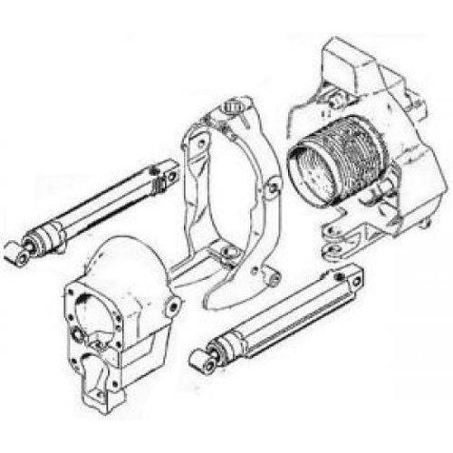 Mercruiser transom en overige onderdelen
