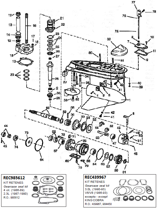 1986 50 hp mercury outboard schematics