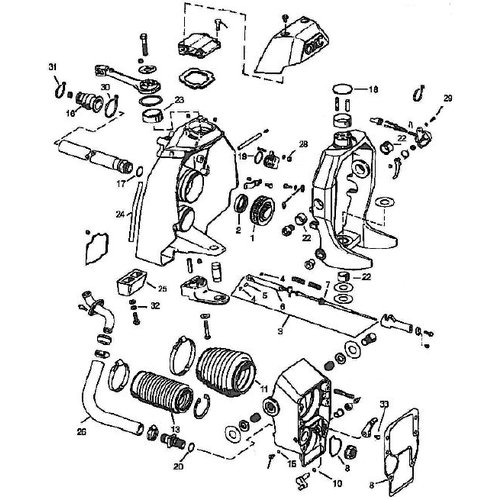 Sterndrive Parts