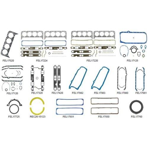 Volvo pakkingset AQ 200/210/211/225/231/229 BB225/231 500/501DP (204/205 pk)