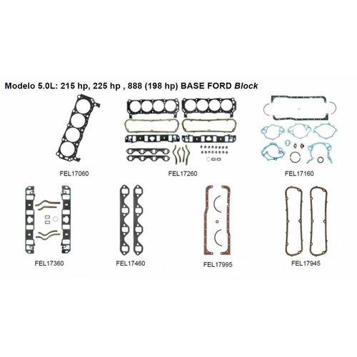 Mercruiser 8 cylinder motor pakkingen 5.0L: 215 hp, 225 hp , 888 (198 hp) BASE FORD