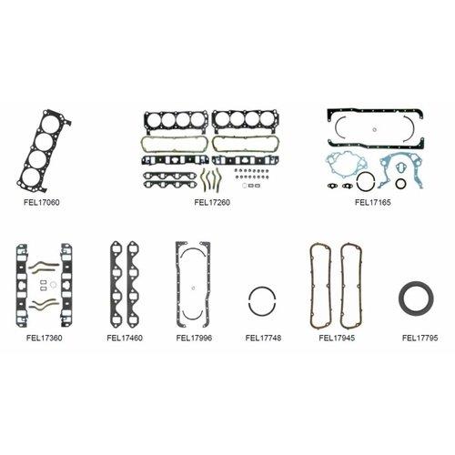 Mercruiser 8 cylinder motor pakkingen 5.8L 233 Ser. No. 3258728 - 4175499 (233 hp); 255 Ser. No. 3258728 - 4175499 (255 hp) BASE FORD Block