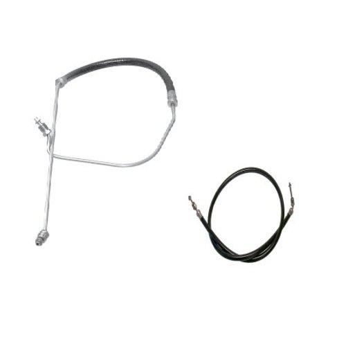 OMC 4 cilinder trim hoses / trim slangen