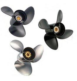 Johnson/Evinrude 90 t/m 300 pk + OMC 800/Cobra/King propeller 15 tooth spline 11 t/m 23 pitch