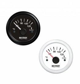 Water temperatuur meter Zwart/Wit 40-120 ºC