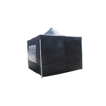 Zwarte tent 4x4 meter