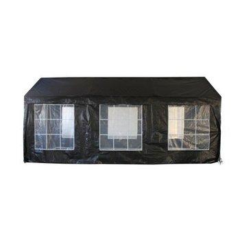 Zwarte tent 6x4 meter
