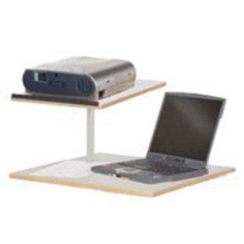 Beamer en scherm met laptop