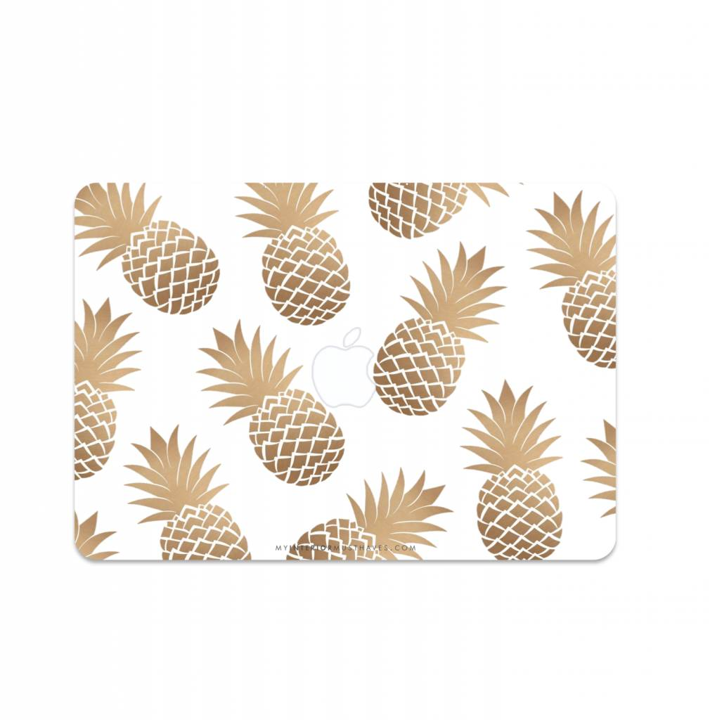 GOLDEN PINE (laptop sticker) - MIM