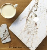 GOLDEN MARBLE (laptop sticker) - MIM