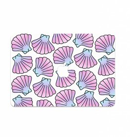 MERMAID SHELLS (laptop sticker) - MIM