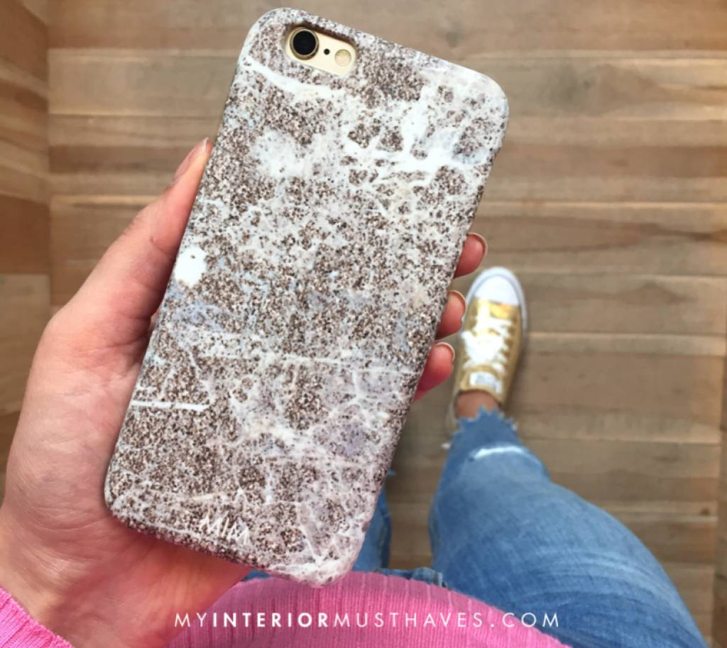 TAUPE GLITTER - MIM AW/17 (phone case)