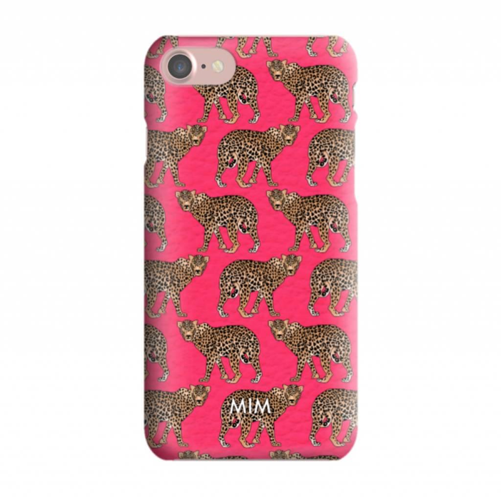 CHEEKY CHEETAH RED - MIM AW/17 (phone case)