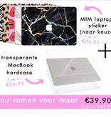 PIMP IT WITH MARBLE (laptop sticker) - MIM