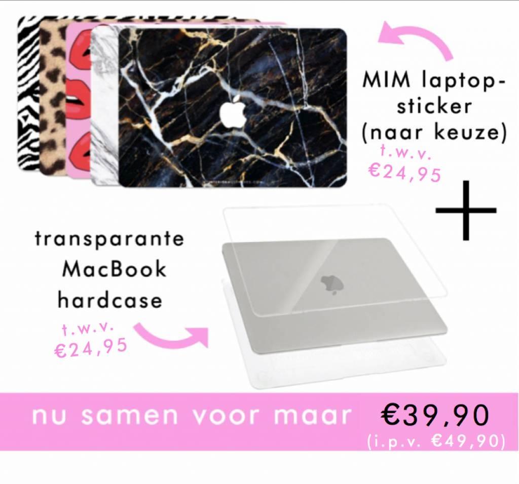GOLDEN MARBLE (laptop sticker) - MIM