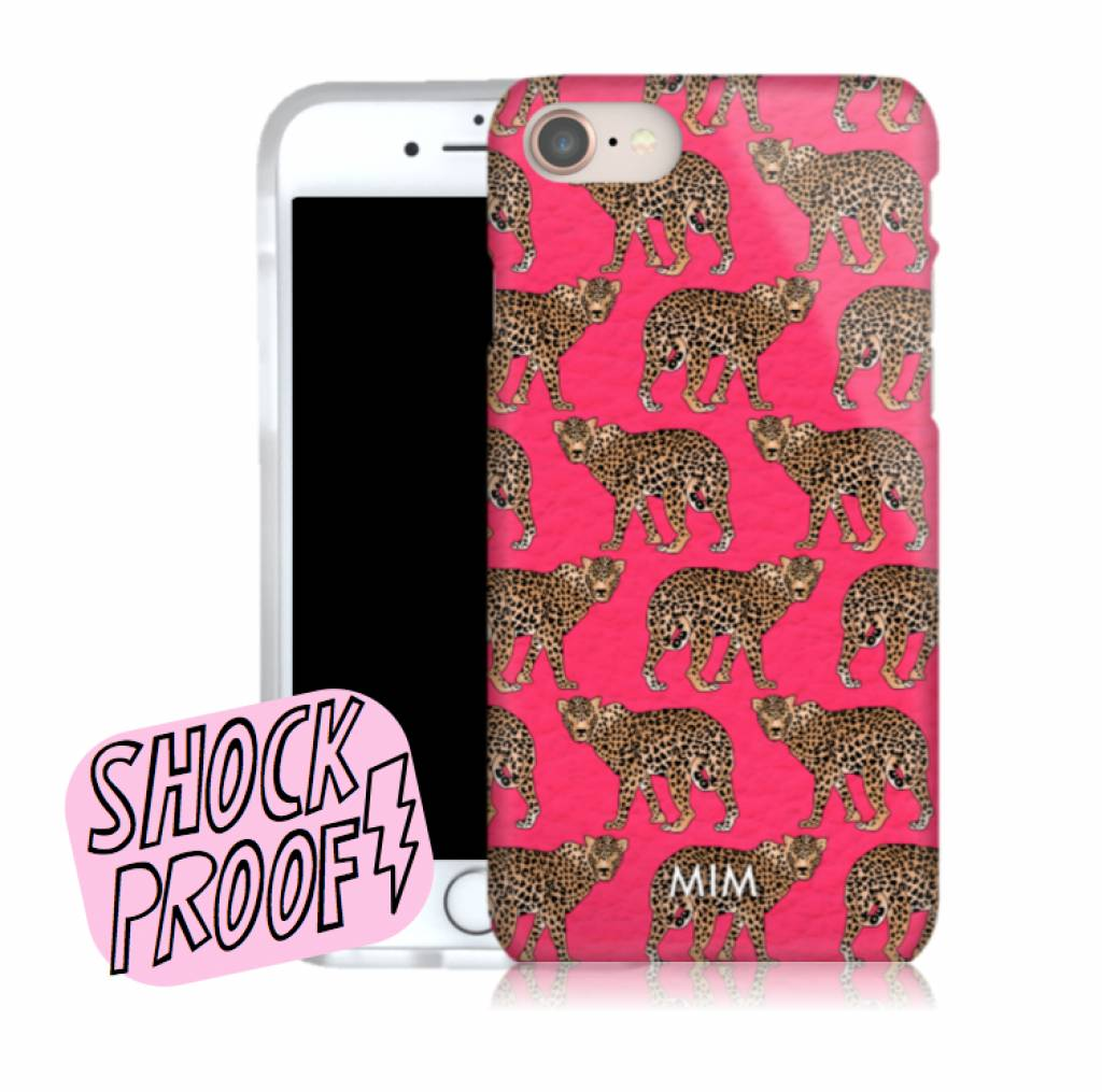 CHEEKY CHEETAH - MIM BUMPER CASE (shockproof)