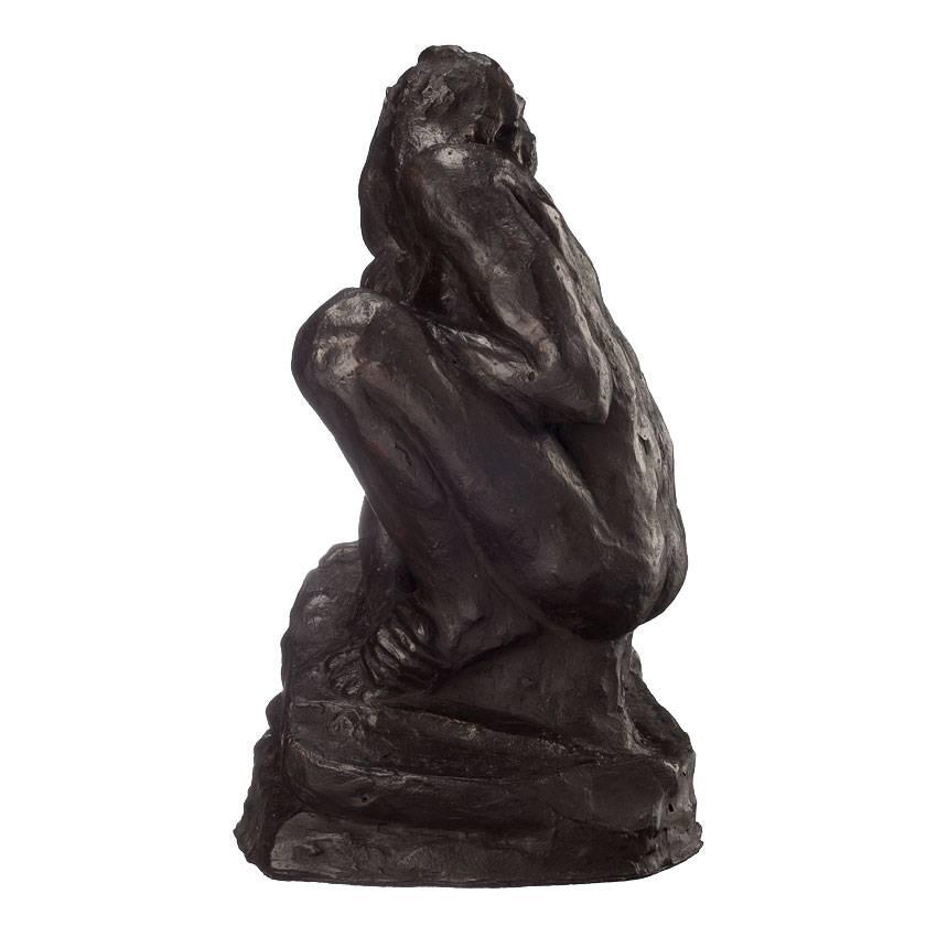 Replica of 'Squatting Woman' Auguste Rodin
