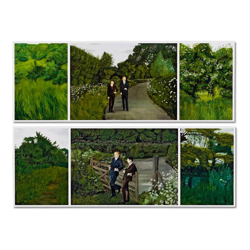 Postcards 'The Paintings (with Us in the Nature)' - Gilbert & George