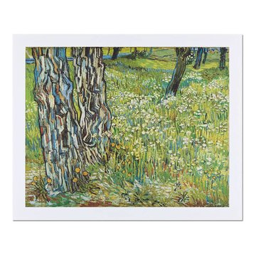 Reproduction 'Tree Trunks in the Grass' - Vincent van Gogh