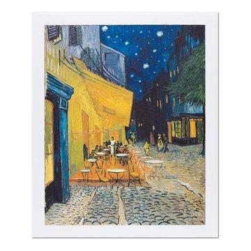 Reproductie 'Caféterras bij nacht' - Vincent van Gogh