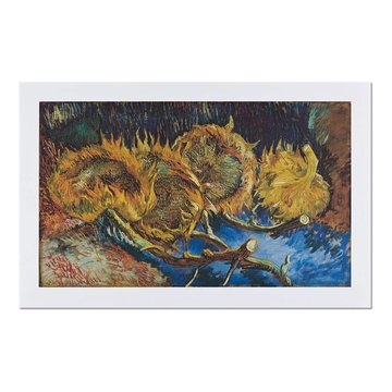 Reproduction 'Four Sunflowers Gone to Seed' - Vincent van Gogh