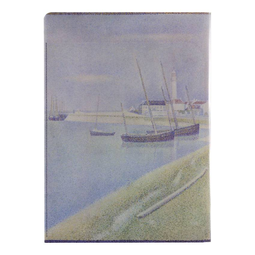 Document wallets 'A Sunday at Port-en-Bessin' - Georges Seurat