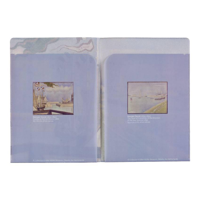 Insteekhoezen 'Een zondag in Port-en-Bessin' - Georges Seurat