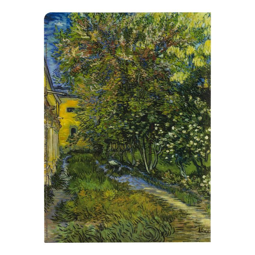 Document wallets 'The Garden of the Asylum at Saint-Rémy' - Vincent van Gogh