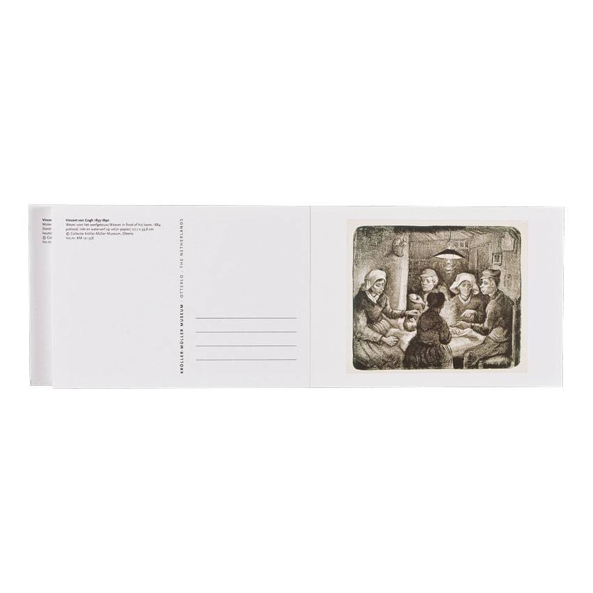 VINCENT VAN GOGH POSTCARD BOOK