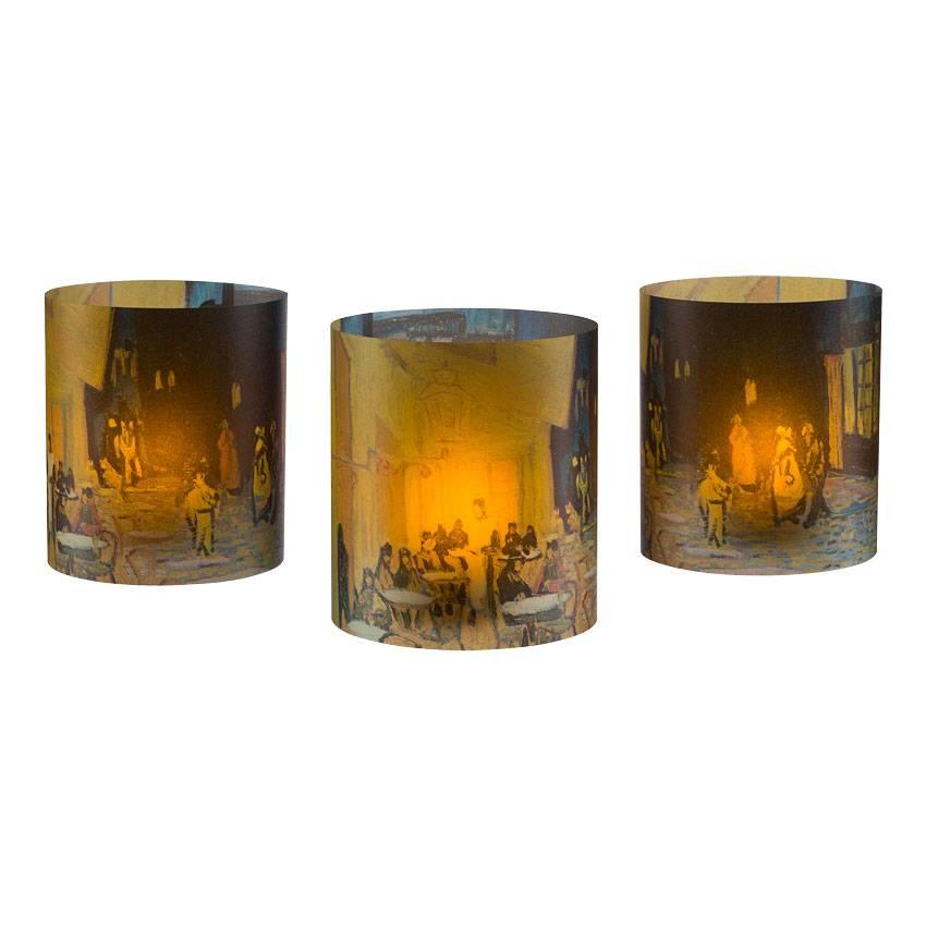 Tea light holders 'Terrace of a Café at Night' - Vincent van Gogh