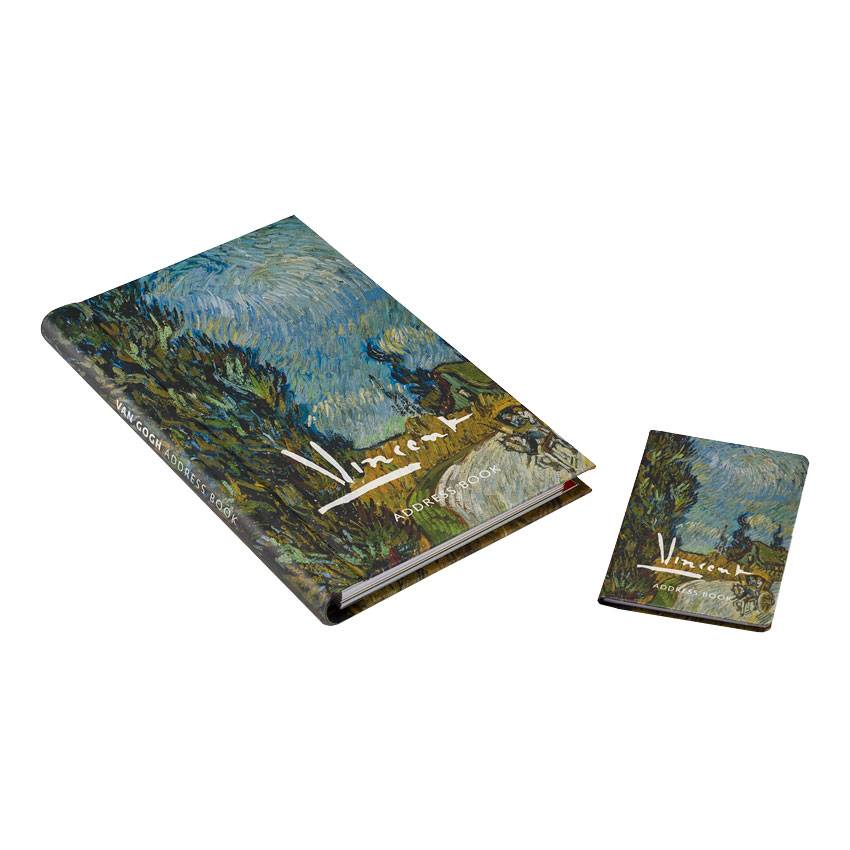 ADDRESS BOOKS 'COUNTRY ROAD IN PROVENCE' BY VINCENT VAN GOGH