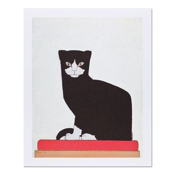Reproduction 'The Cat' - Bart van der Leck