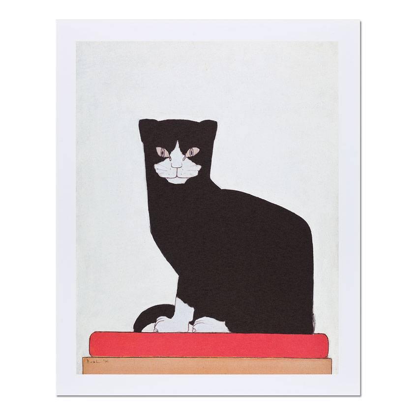 Reproduction 'The Cat' - Bart van der Leck