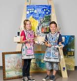 Colour your own painter apron
